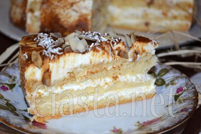 Tort mascarpone przepis na biszkoptowy tort for What to do with mascarpone